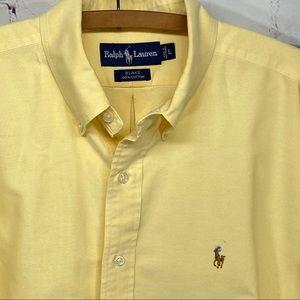 Polo Ralph Lauren Blake shirt yellow size large